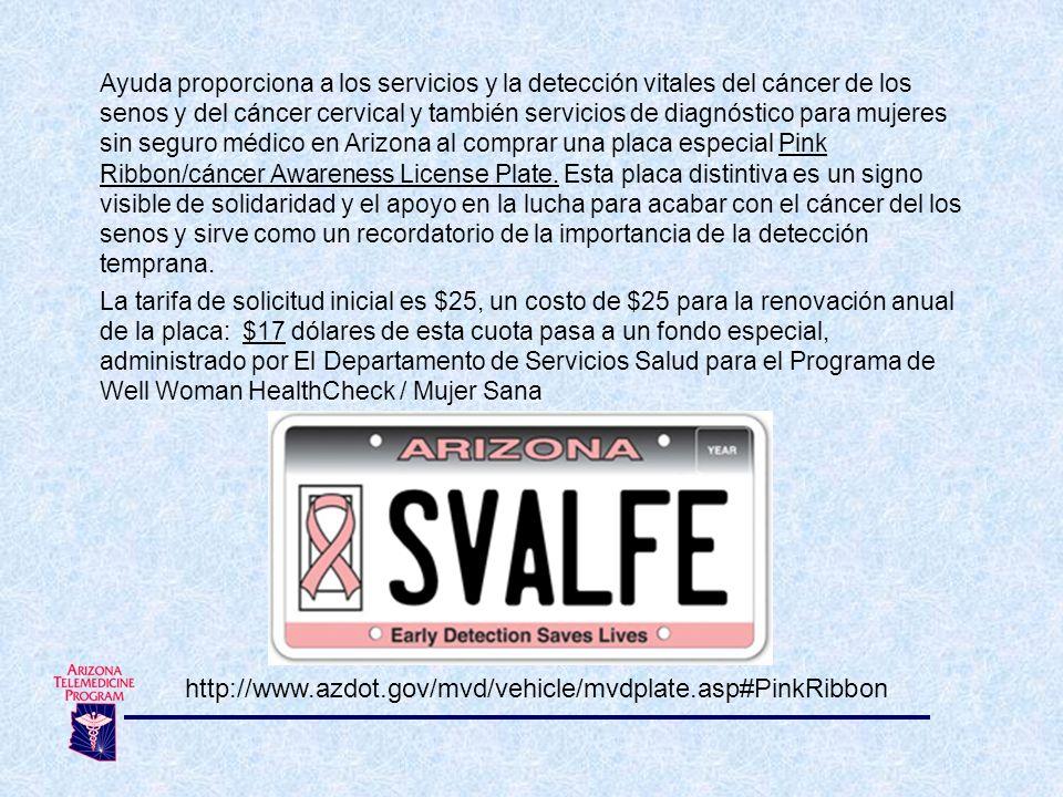 Ayuda proporciona a los servicios y la detección vitales del cáncer de los senos y del cáncer cervical y también servicios de diagnóstico para mujeres