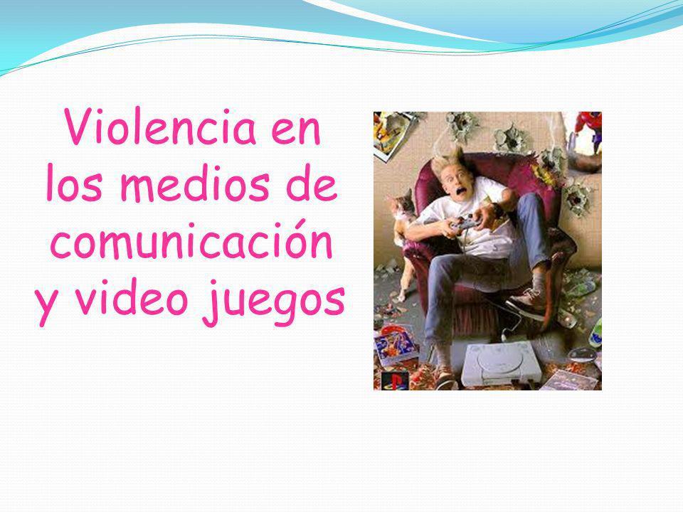 «Cultura de la violencia» o la violación de las conciencias Películas Telenovelas Internet Pornografía Video juegos Noticieros