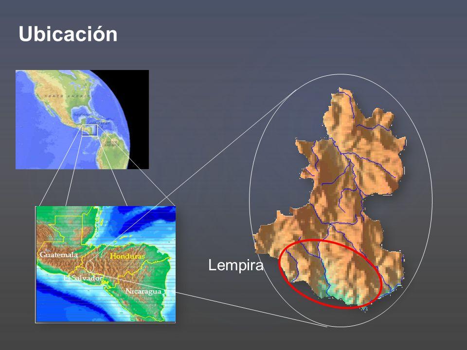 Honduras El Salvador Nicaragua Guatemala Lempira Ubicación
