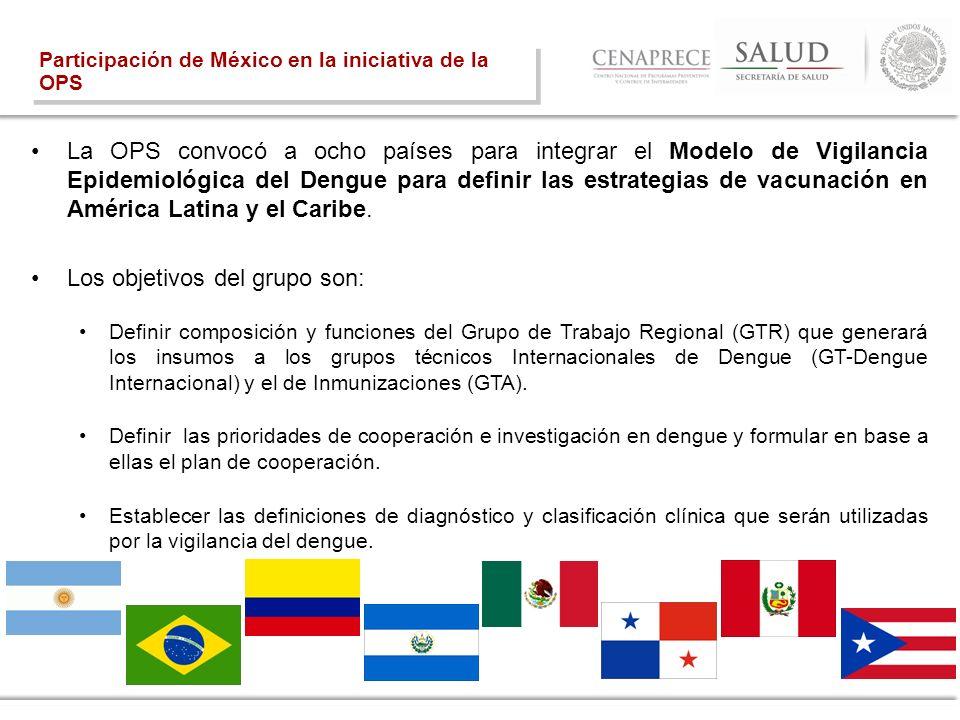La OPS convocó a ocho países para integrar el Modelo de Vigilancia Epidemiológica del Dengue para definir las estrategias de vacunación en América Lat