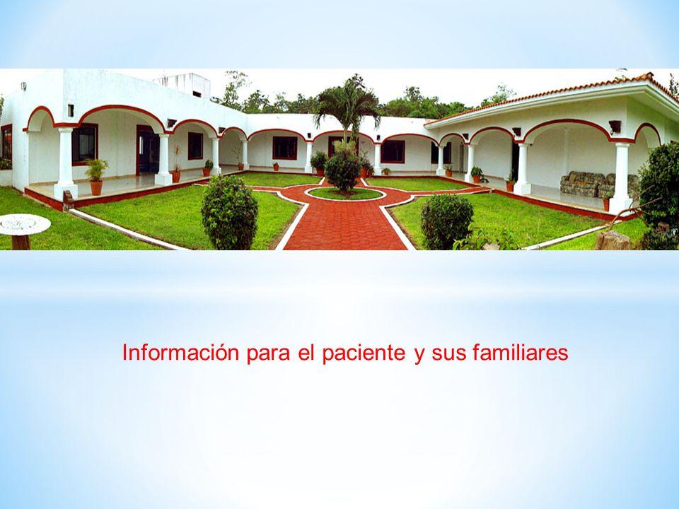 Información para el paciente y sus familiares