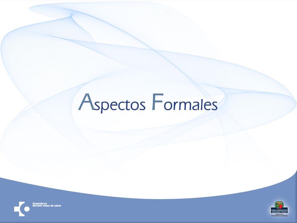 A spectos F ormales
