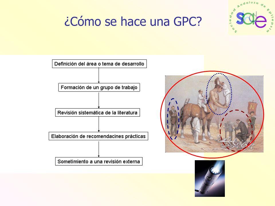 ¿Cómo se hace una GPC?