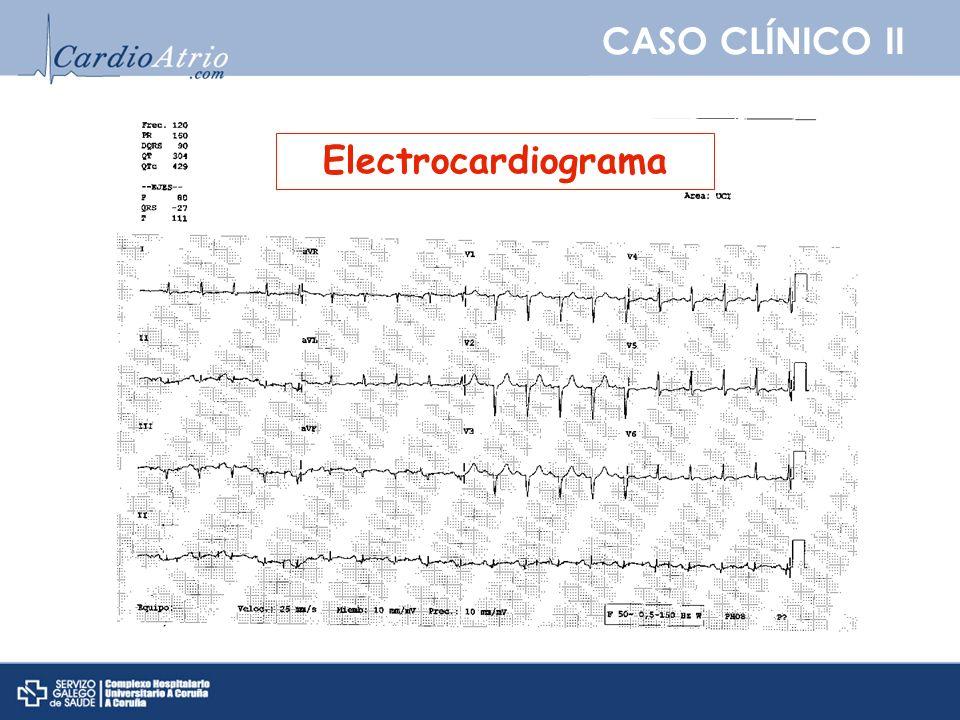 CASO CLÍNICO II PREGUNTA 5: ¿Con respecto a las pruebas de imagen que puede utilizar para confirmar el diagnóstico de IAM cual es verdadera.