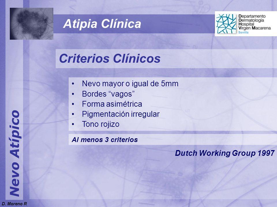 Nevo Atípico Dermatoscopia Nevo Atípico Hiper-hipo multifocal No clasificado