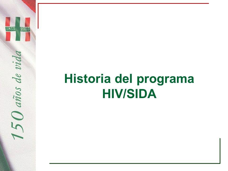 Historia del programa HIV/SIDA