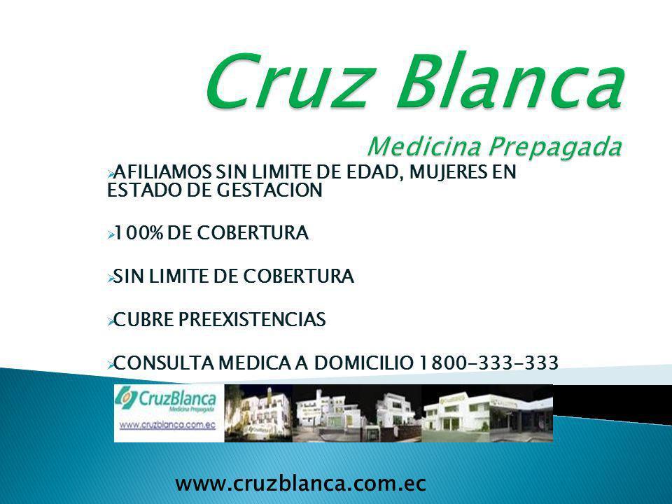 VISION: Ser la empresa de Medicina Prepagada preferida por los Ecuatorianos MISION: Reconocer en cada usuario la razón de ser de nuestra empresa, busc