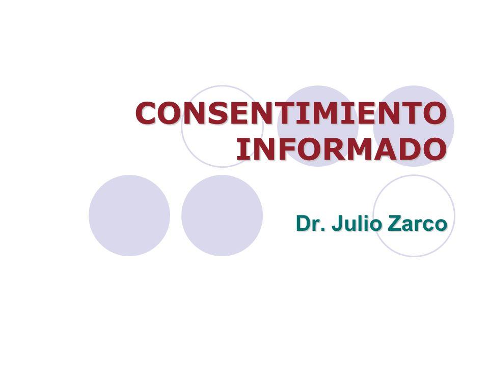 Consentimiento informado ¿En qué consiste.