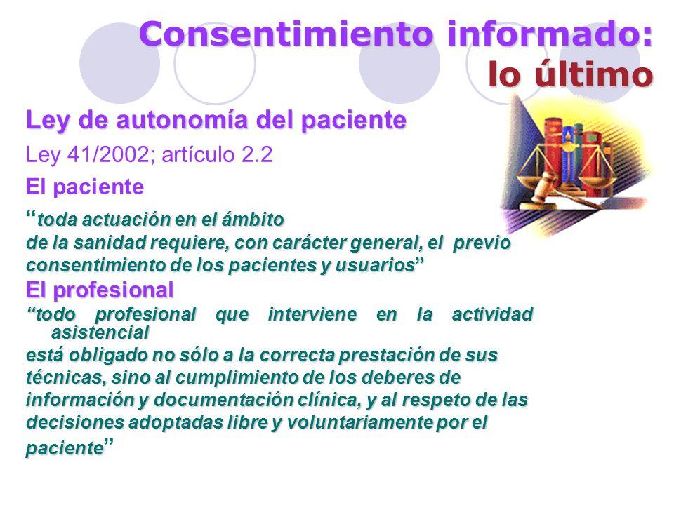 Consentimiento informado: justificación El consentimiento legitima al ensayo clínico y es una premisa de la investigación ética.