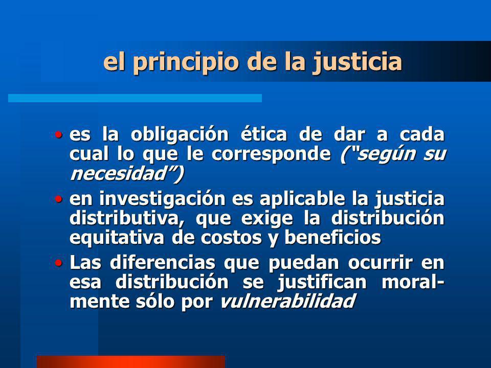 el principio de la justicia es la obligación ética de dar a cada cual lo que le corresponde (según su necesidad)es la obligación ética de dar a cada c