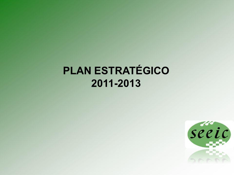 Plan estratégico 2011 - 2013 Definicion del plan de accion 3.3.1.