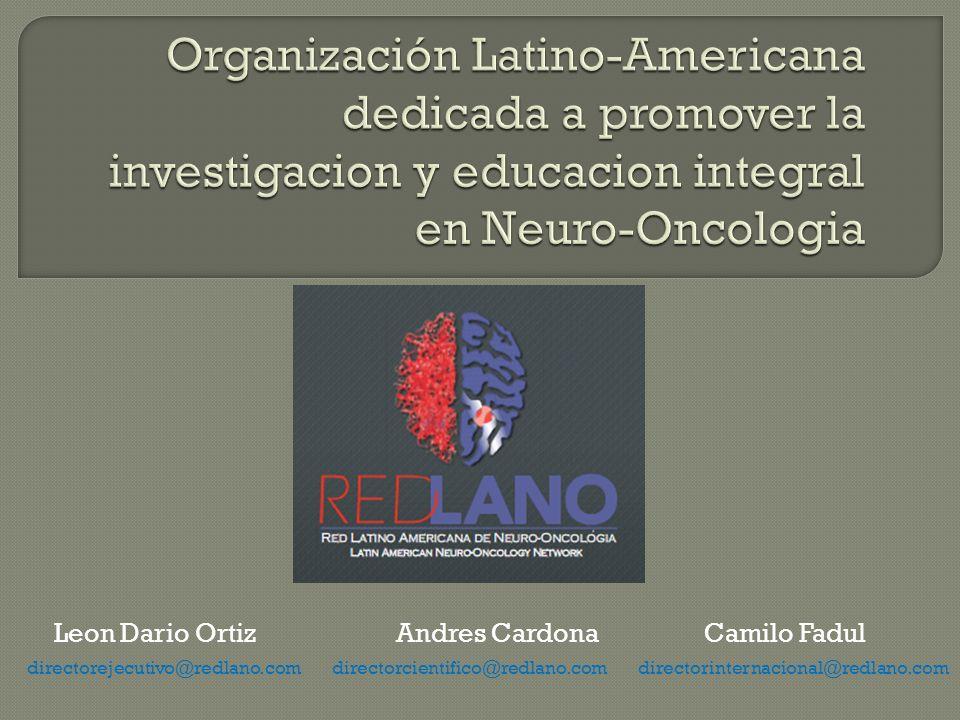 Leon Dario Ortiz Andres Cardona Camilo Fadul directorejecutivo@redlano.com directorcientifico@redlano.com directorinternacional@redlano.com