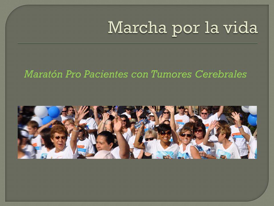 Maratón Pro Pacientes con Tumores Cerebrales