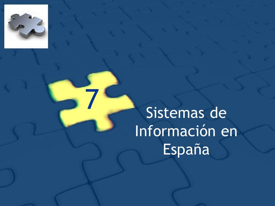 7 Sistemas de Información en España