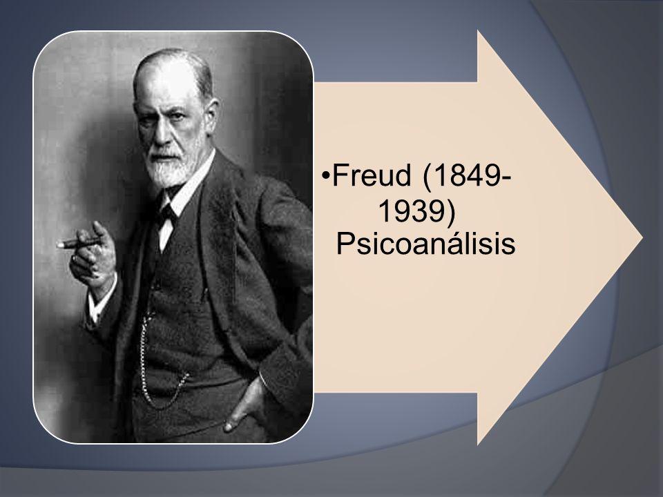 Freud (1849- 1939) Psicoanálisi s