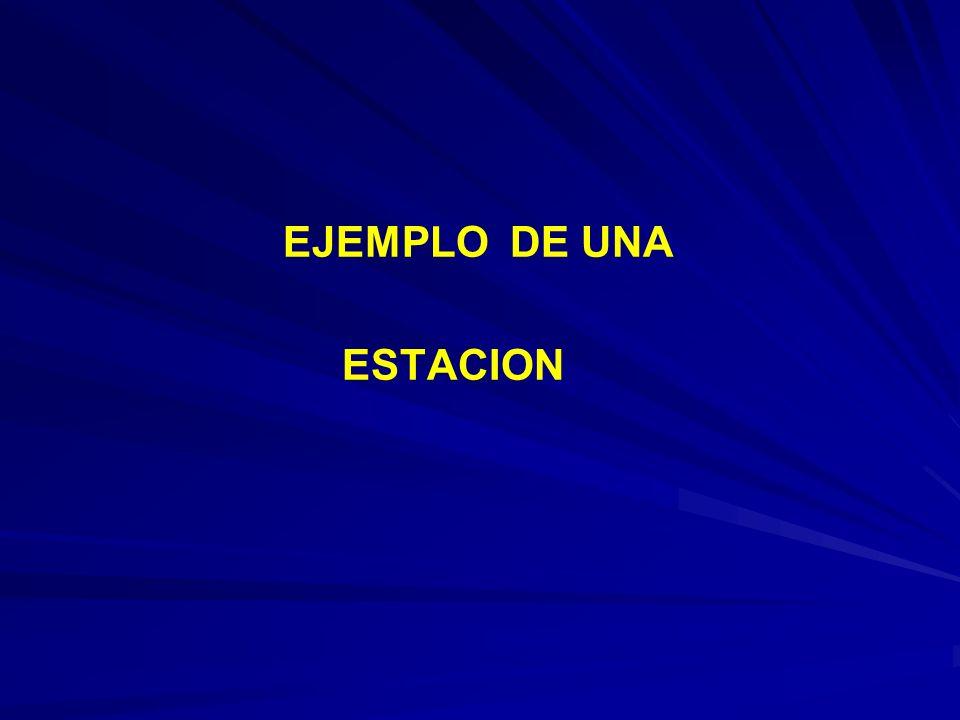 EJEMPLO DE UNA ESTACION