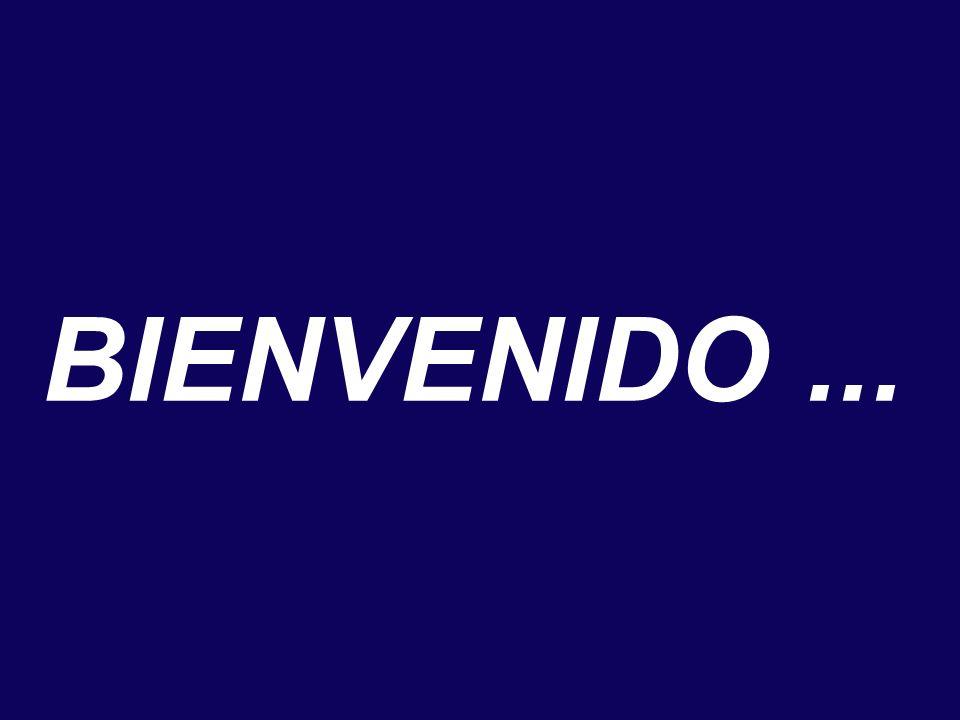 BIENVENIDO...