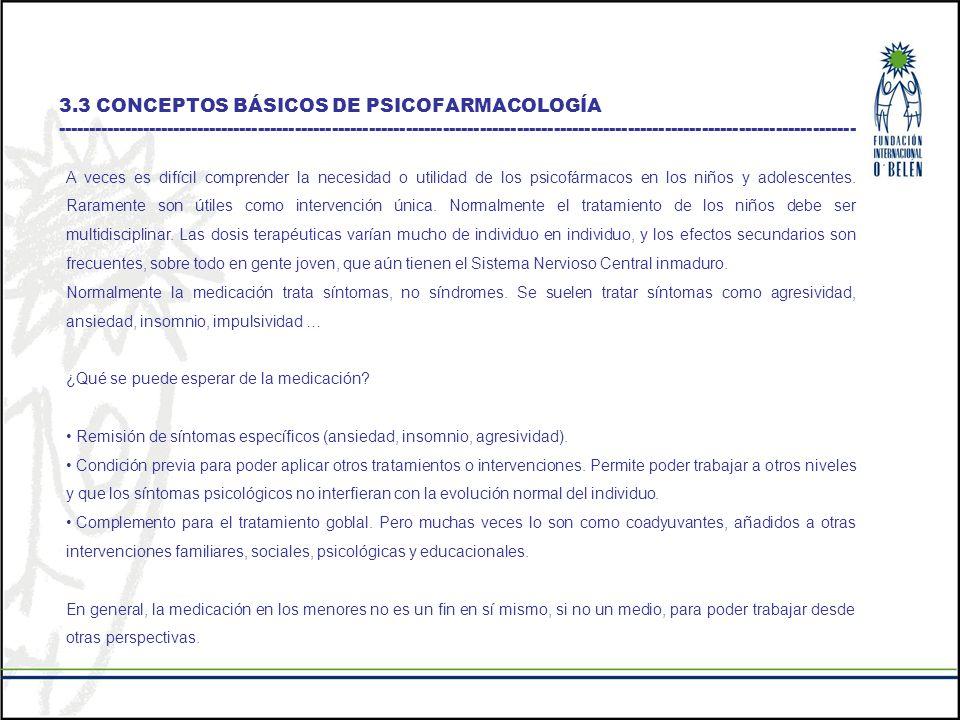 TIPO DE FÁRMACO NOMBRE COMERCIAL UTILIZACIÓN Neurolépticos o antipsicóticos Sinogán, Etumina, Largactil, Meleril, Haloperidol, Modecate, Lonserén, Eskazine, Leponex, Rispeldal, Cisordinol, Zyprexa, Dogmatil Esquizofrenia.