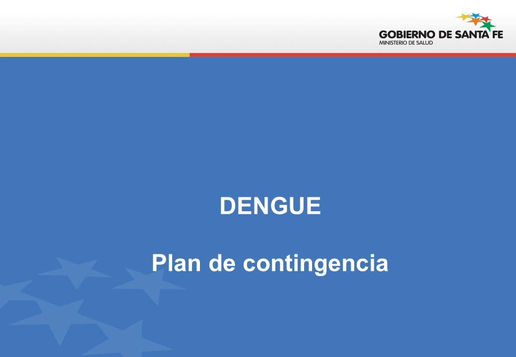 DENGUE Plan de contingencia