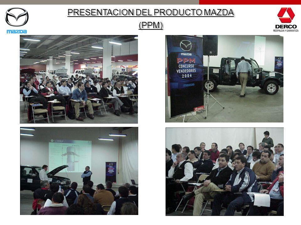PRESENTACION DEL PRODUCTO MAZDA (PPM) PRESENTACION DEL PRODUCTO MAZDA (PPM)