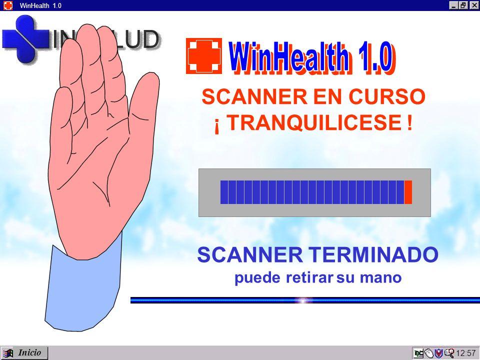 12:59 WinHealth 1.0 SCANNER EN CURSO ¡ TRANQUILICESE .