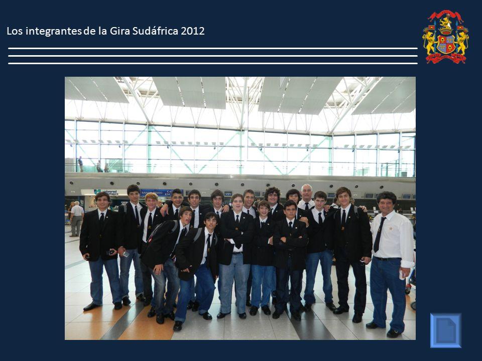 Los integrantes de la Gira Sudáfrica 2012