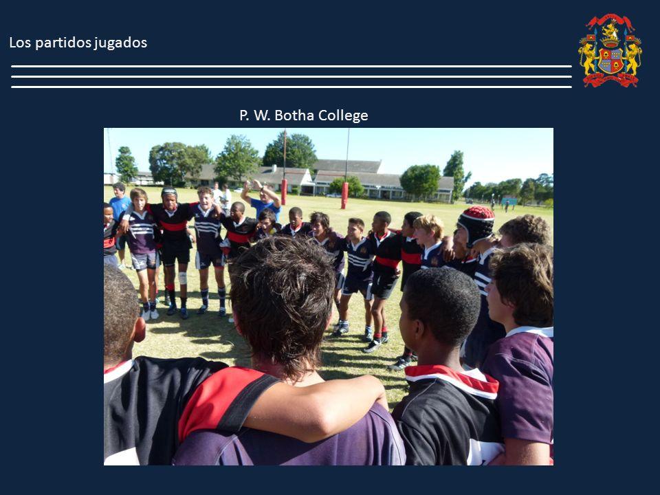 Además, como parte del perfeccionamiento físico y de juego, estuvimos entrenando durante 2 días en el Rugby Performaces Center (R.P.C) que es una clínica de Rugby dedicada a formar jugadores profesionales, ubicada en la ciudad de en Riebeck Kastle; a cargo del Sr.