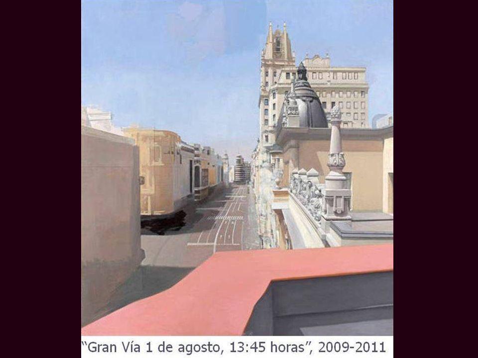 La Gran Vía desde el balcón
