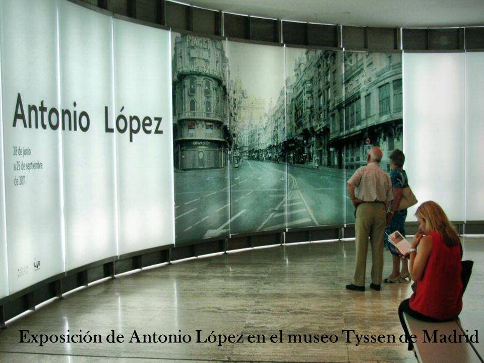 No todos los días un artista español recibe semejante homenaje en el Museo Thyssen, y menos estando en activo como Antonio López. Las 130 piezas exhib