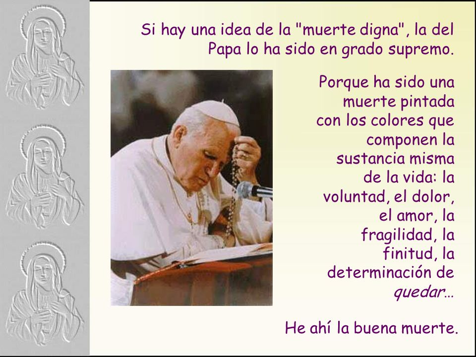 Descanse en paz Juan Pablo II.