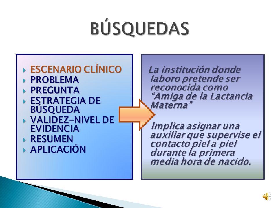 www.cebm.net ¿QUÉ ES UN CAT (CRITICALLY APPRAISED TOPIC)? ESCENARIO CLÍNICO PROBLEMA PREGUNTA ESTRATEGIA DE BÚSQUEDA VALIDEZ NIVEL DE EVIDENCIA RESUME
