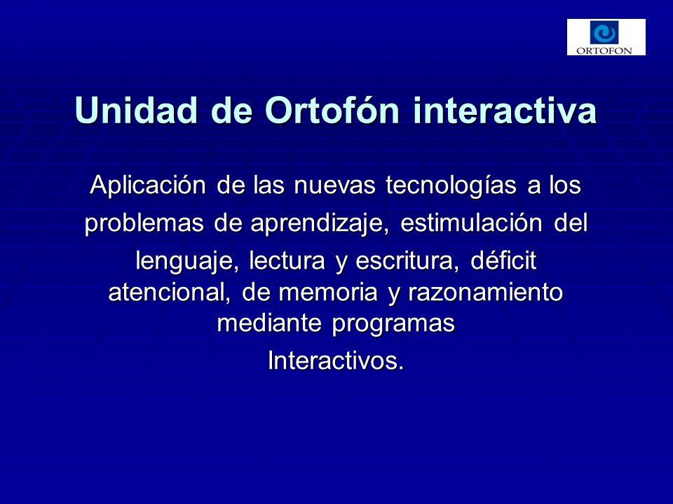 Aplicación de las nuevas tecnologías a los problemas de aprendizaje, estimulación del lenguaje, lectura y escritura, déficit atencional, de memoria y razonamiento mediante programas Interactivos.