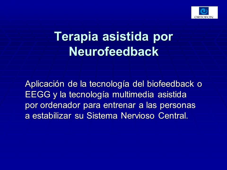 Aplicación de la tecnología del biofeedback o EEGG y la tecnología multimedia asistida por ordenador para entrenar a las personas a estabilizar su Sistema Nervioso Central.