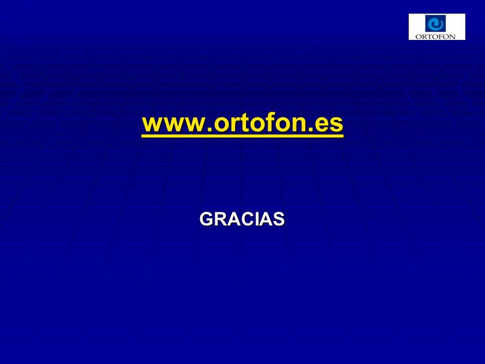 GRACIAS www.ortofon.es