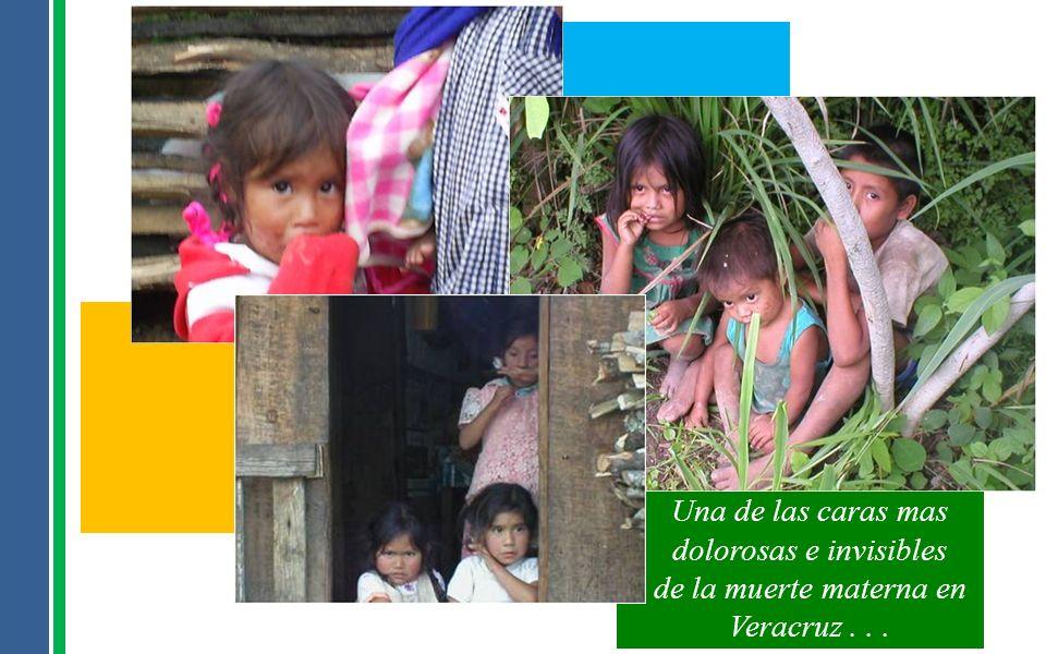 Una de las caras mas dolorosas e invisibles de la muerte materna en Veracruz...