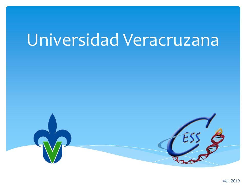 Universidad Veracruzana Centro de Estudios y Servicios en Salud Ver. 2013