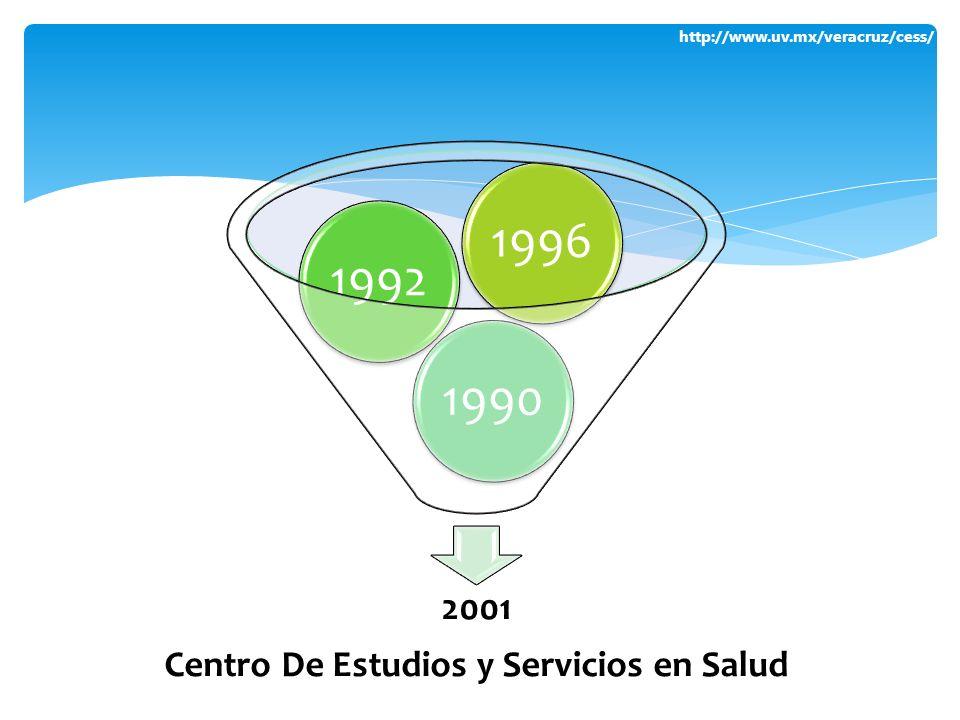http://www.uv.mx/veracruz/cess/ 2001 Centro De Estudios y Servicios en Salud 199019921996