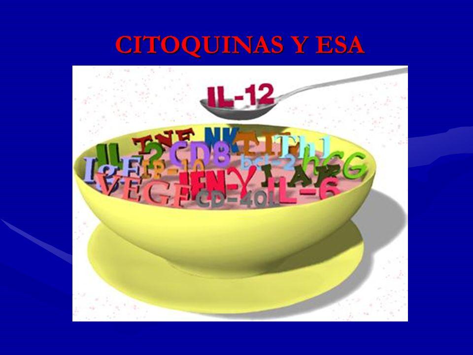 CITOQUINAS Y ESA