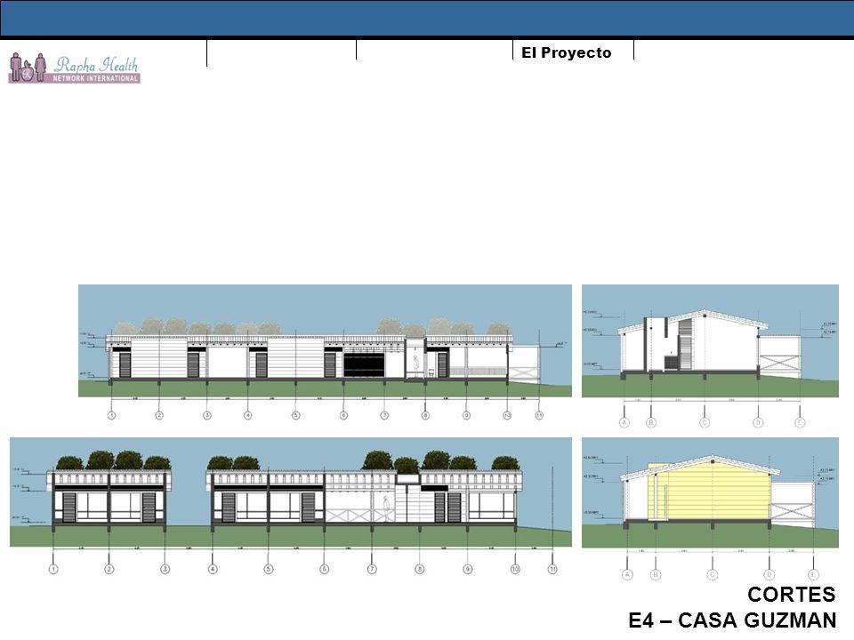 El Proyecto CORTES E4 – CASA GUZMAN