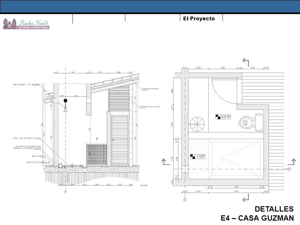 El Proyecto DETALLES E4 – CASA GUZMAN