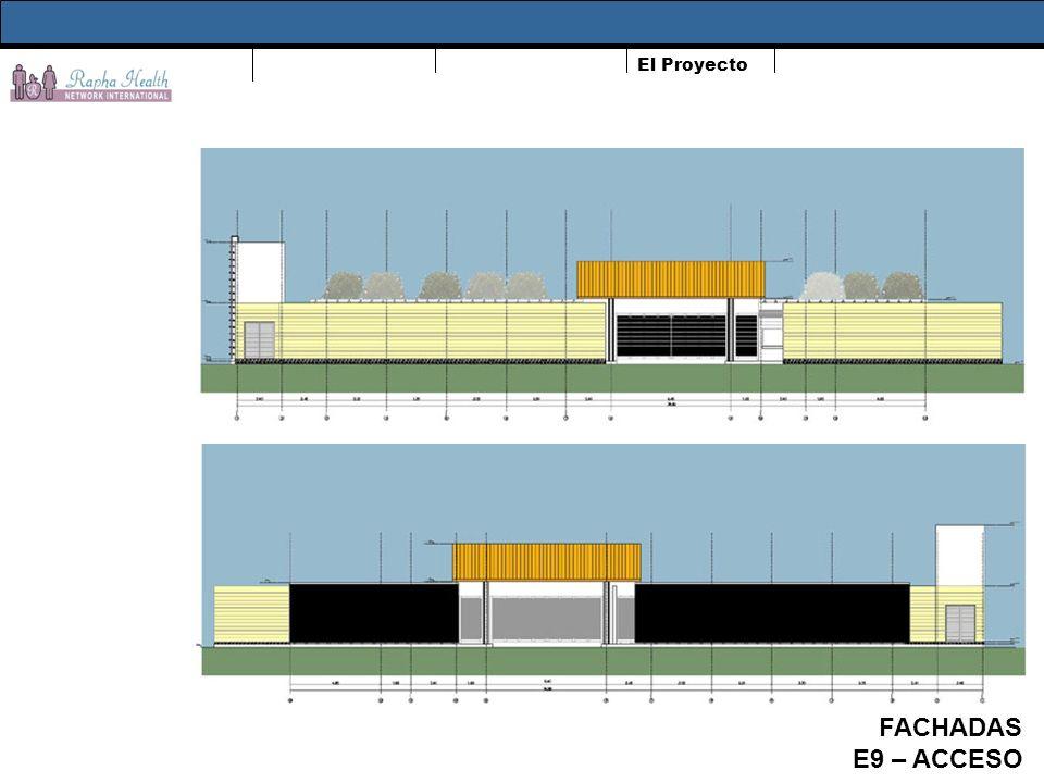 El Proyecto FACHADAS E9 – ACCESO