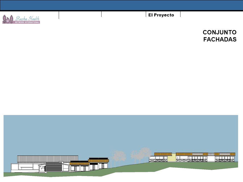 El Proyecto CONJUNTO FACHADAS