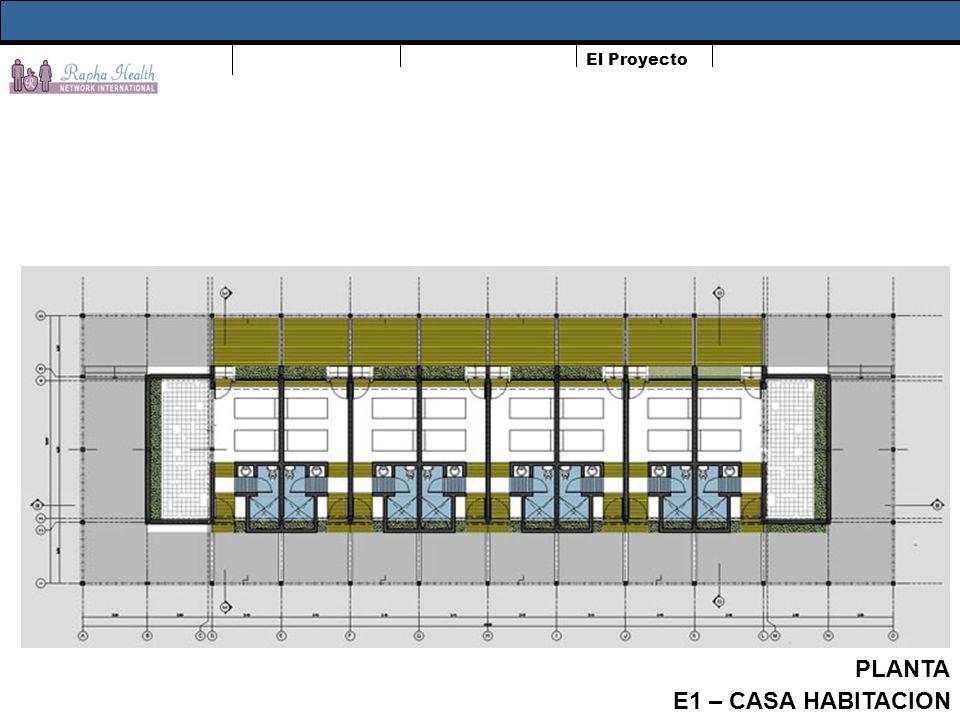 El Proyecto PLANTA TECHO E3 - COCINA