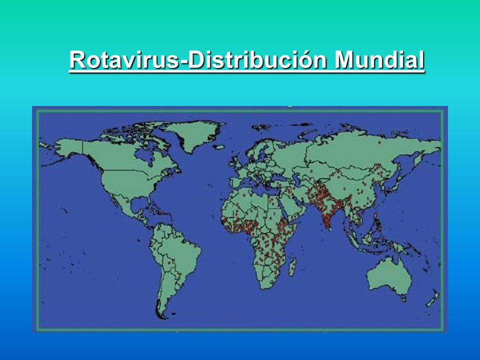 Rotavirus-Distribución Mundial