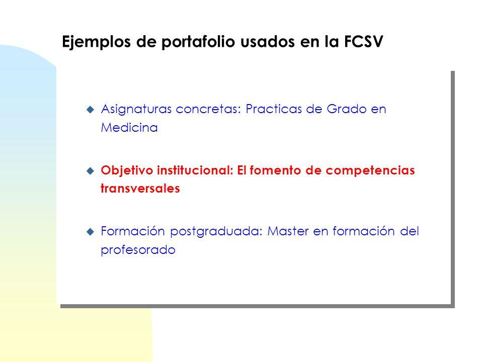 Repercusión de la evaluación positiva (LB) Quinto curso 0,5 puntos sobre la nota de la asignatura Prácticas (20 créditos) Requisito tener aprobada la asignatura El Portafolio en la FCSV de la UPF Evaluación Licenciatura