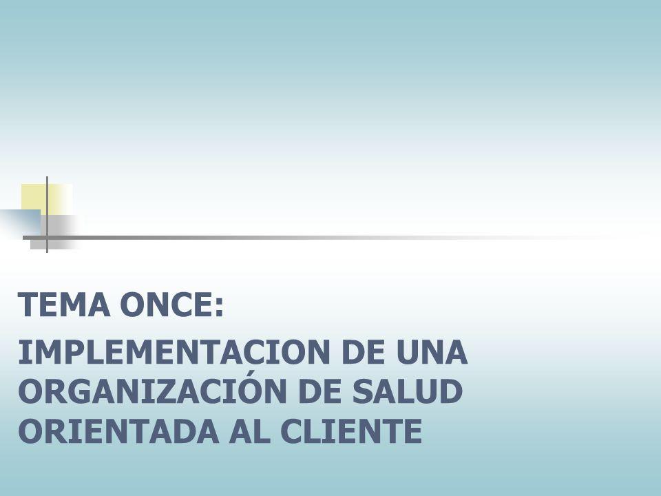 Las normas de la organización sobre satisfacción del cliente son claras y efectivas. Los periódicamente discutidas con la gente de vanguardia. Todos l