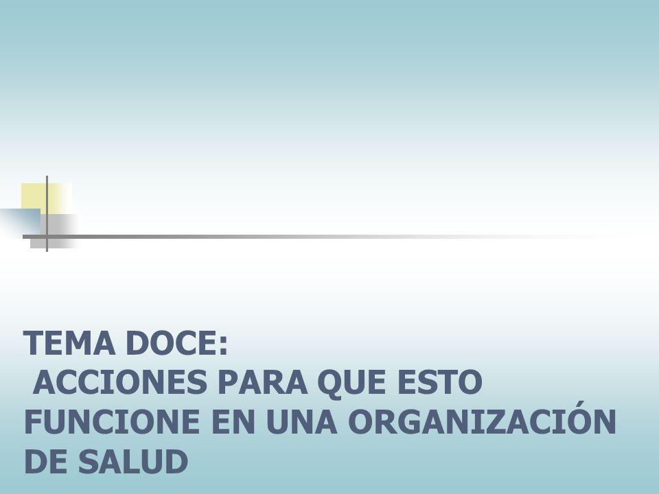 TEMA DE DISCUSION 12. 1 ¿Está funcionando el marketing en mi organización? Para la próxima sesión, revise el material que corresponde al TEMA DOCE. En