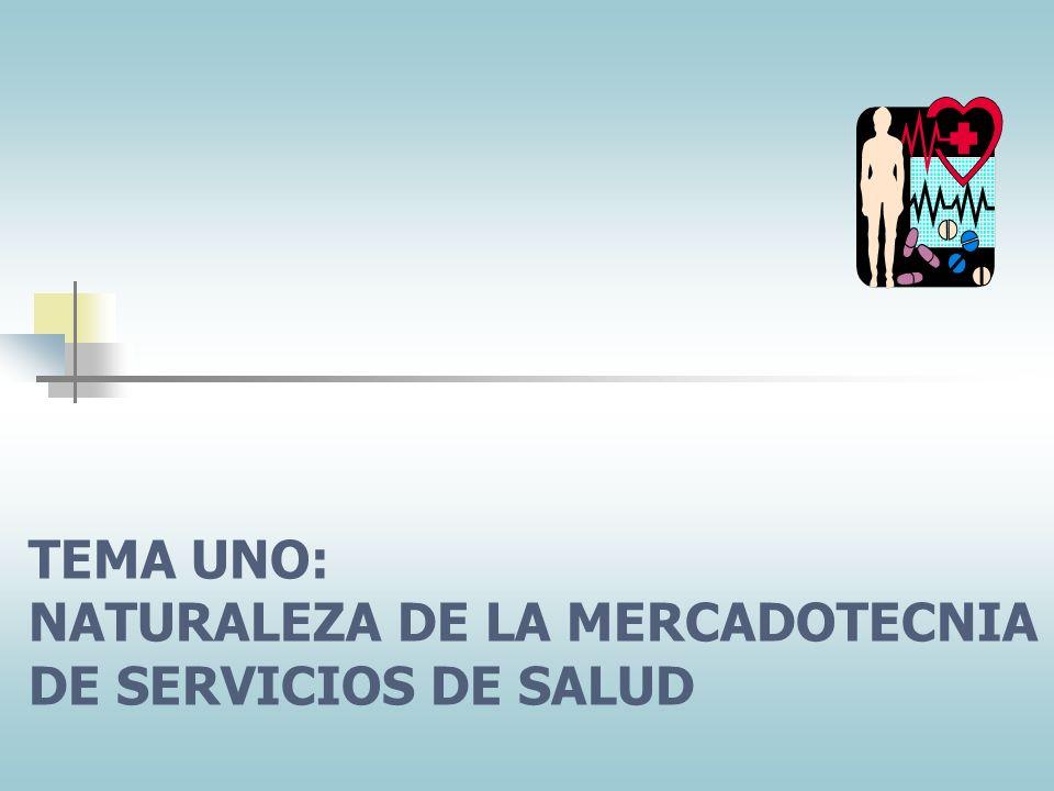 CONTENIDO DEL CURSO 1.Naturaleza de la mercadotecnia de servicios de salud 2.Mercadotecnia de relaciones: La clave de los servicios de salud 3.Planeac