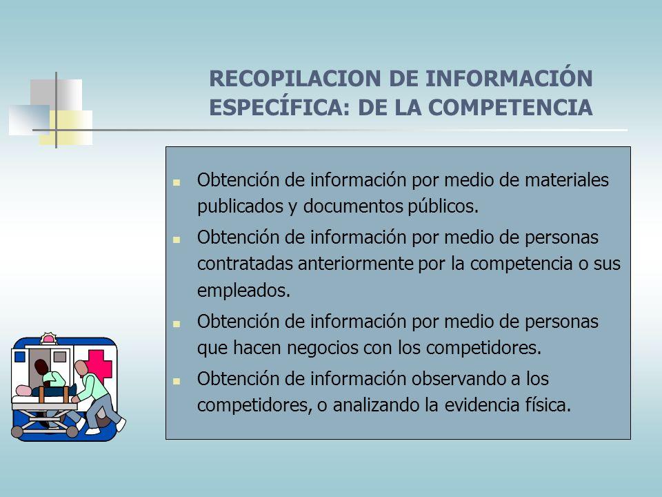 SISTEMA DE INTELIGENCIA DE LA MERCADOTECNIA En un conjunto de procedimientos y recursos que utilizan los directivos para obtener información diaria so
