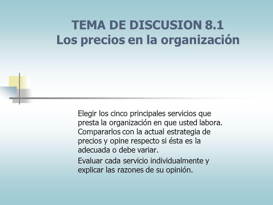 FACTORES EXTERNOS QUE AFECTAN LAS DECISIONES DE DETERMINACION DE PRECIOS EL MERCADO Y LA DEMANDA Determinación de precios en diferentes tipos de merca